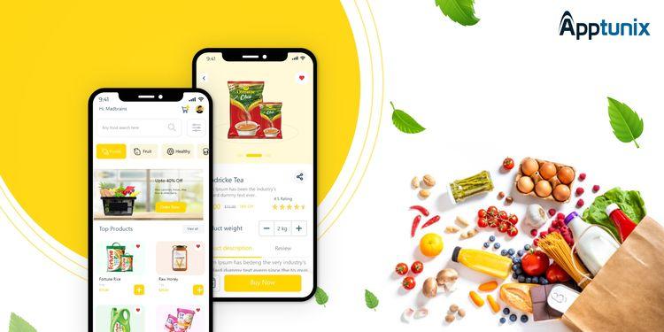 Grocery Delivery App Developmen - appdesigns   ello
