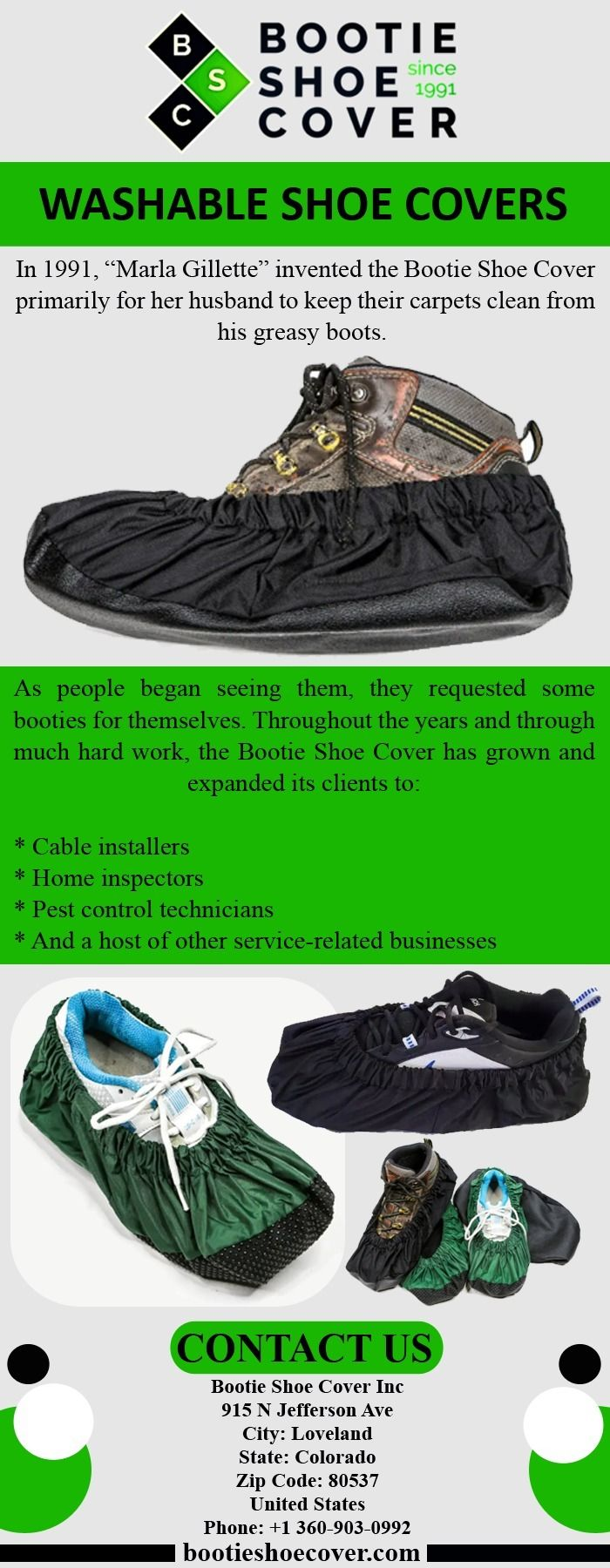 Washable shoe covers designed h - bootieshoecover   ello