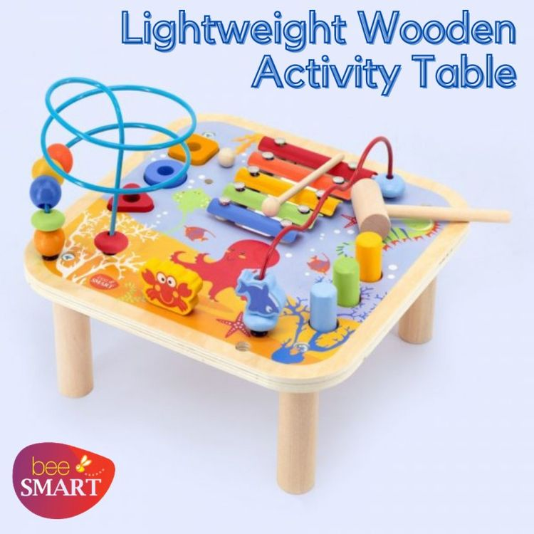 Grab lightweight wooden activit - beesmarttoys | ello