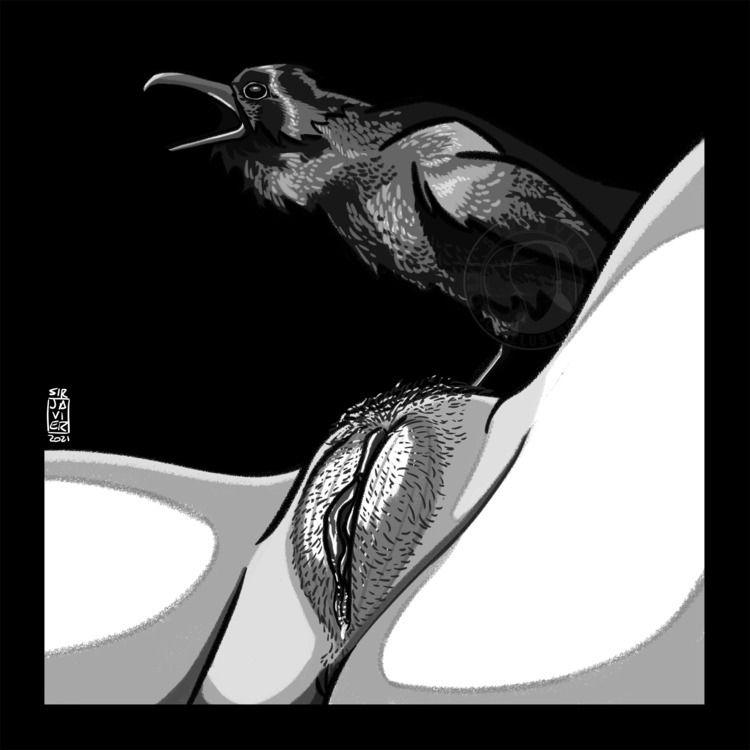 NSFW 2021 Day 5: Raven Nature w - sirjavier | ello