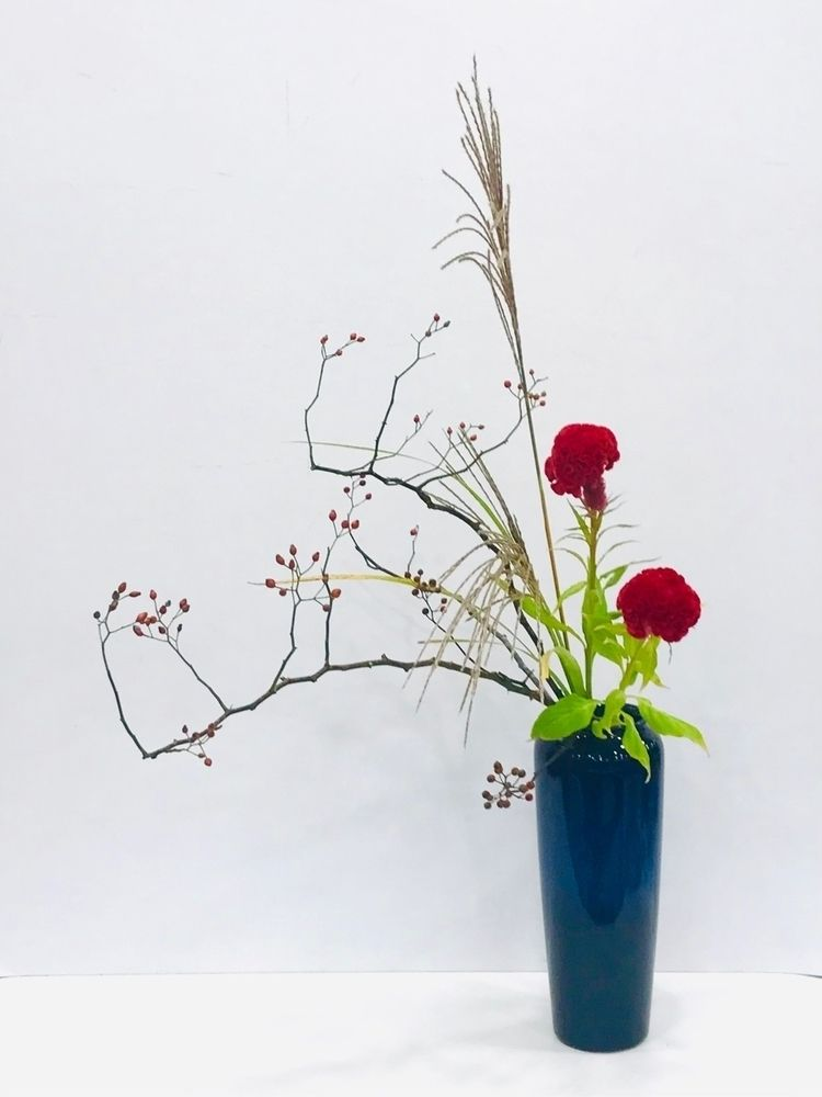 ikebana works - japaneseflowerarrangement - flower-ak   ello