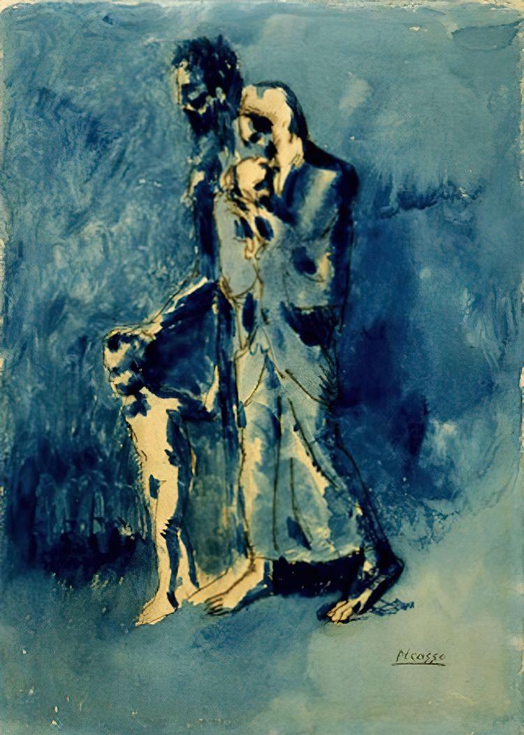 Pablo Picasso, Poverty (Les Mis - geeksusie | ello