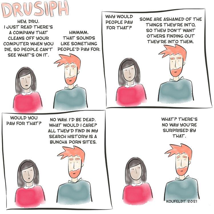 drusiph, comic, comicstrip, comicbook - drusiph   ello