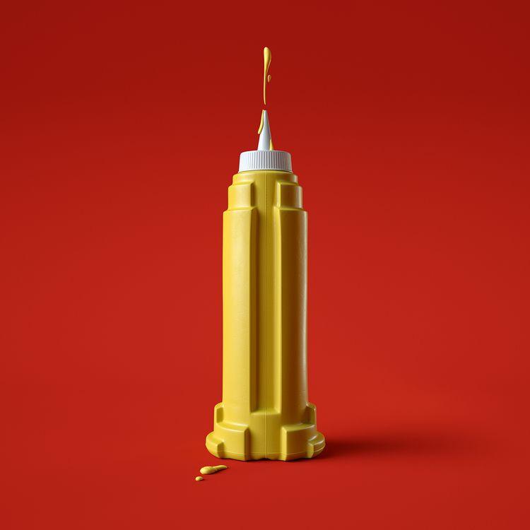Empire state mustard - weareforeal | ello