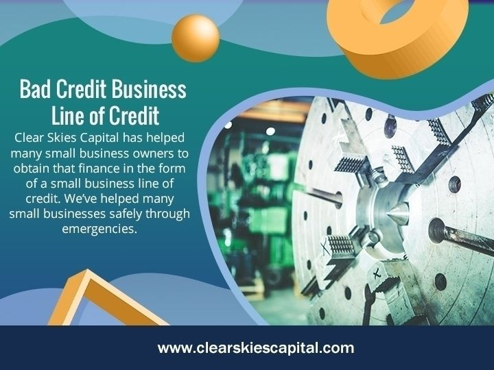 Bad Credit Business Line Offers - clearskiescapital | ello