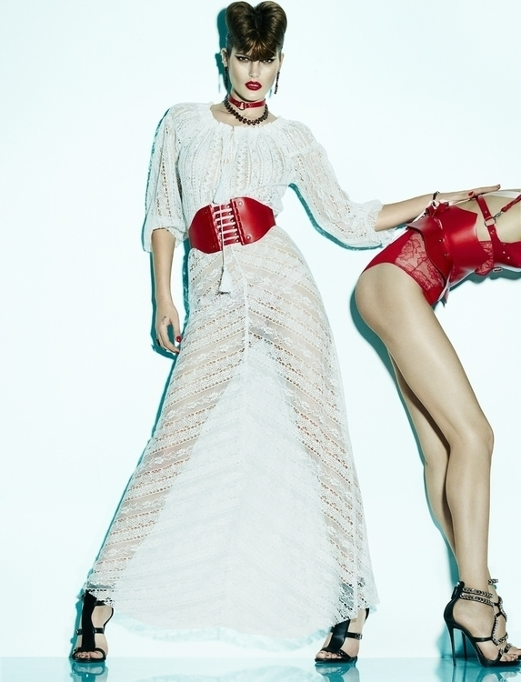 Photo by Greg Kadel. Model Catherine McNeil & Anastasia Khodkina. For Numéro 5.jpg