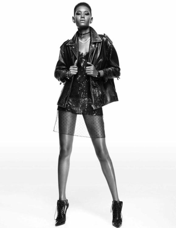 Tendencias. Herieth Paul, Kai Newman, Jasmine Tookes, Ysaunny Brito, Maria Borges, Francine James & Riley Montana by Greg Kadel for Vogue Spain March 2016. 7.jpg