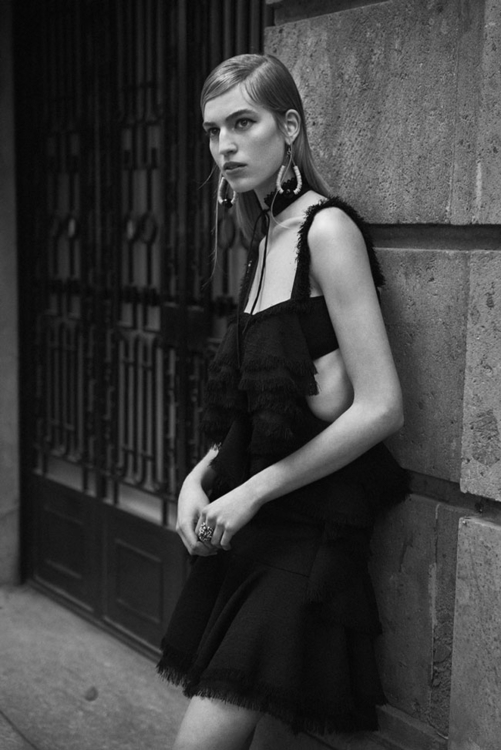 Rhythm of the Heart. Photography by Lachlan Bailey. Fashion editor Ludivine Poiblanc. Model Vanessa Axente. For WSJ. 3.jpg