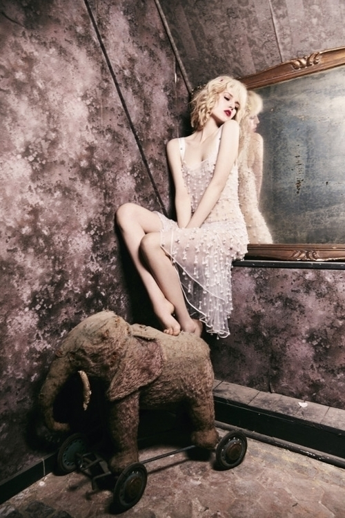 Photography by Ellen von Unwerth. Styling by Gaelle Bon. Hair by Seb Bascle. Make-up by William Bartel. Nails by Christina Conrad. Model Ola Rudnicka. For Numéro Tokyo. 13.jpg