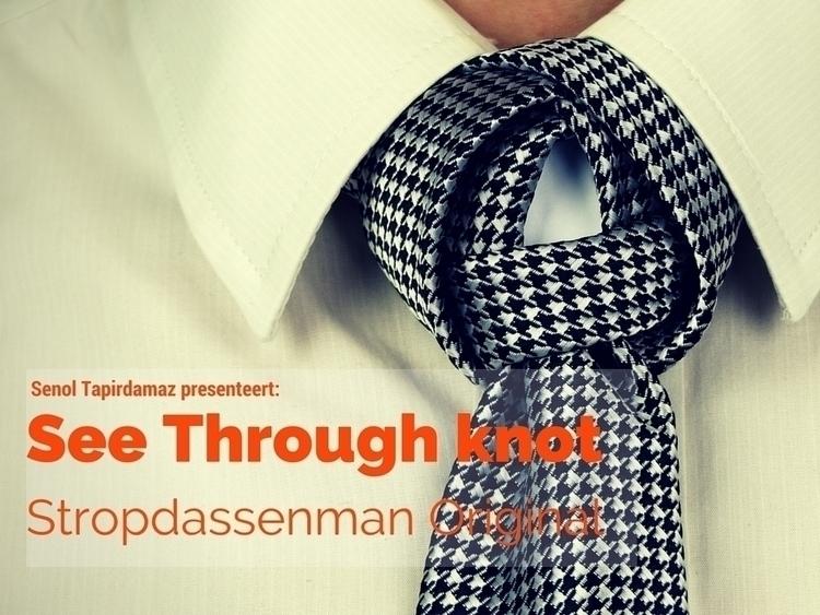 Hoe knoop je een stropdas- See Through Knot.jpg