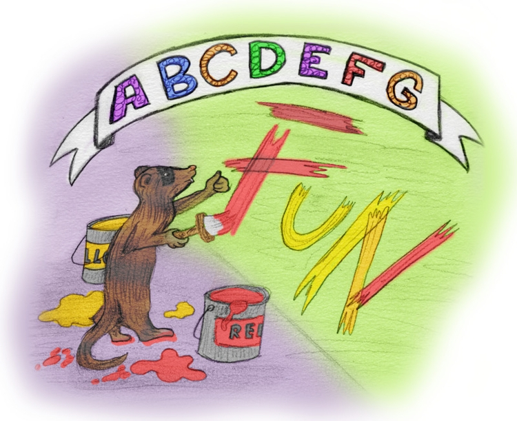 ferret_abcs_by_theflyinferret-d9g6awy.png