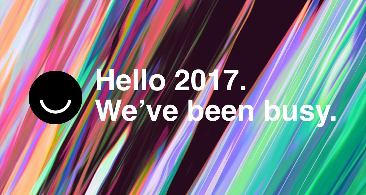Happy 2017, year. kick bit reca - lucian | ello