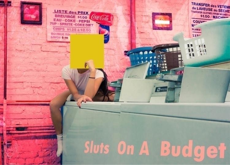 Sluts On A Budget New album cov - quinninnoir | ello