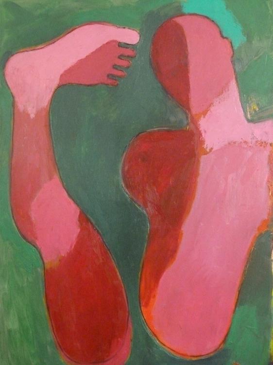 Fragmen 2 Painting, January 201 - charlyhoa | ello