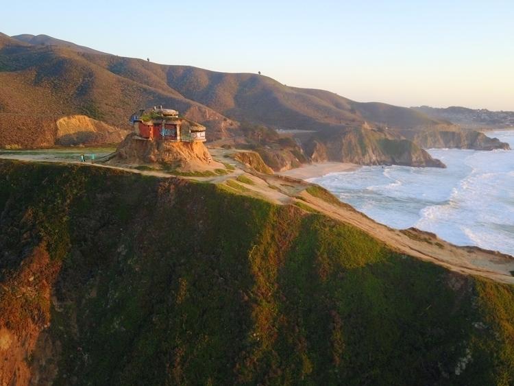 Bunker sunset coast aerial dron - ekai | ello