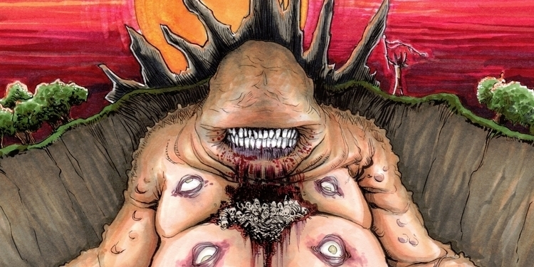 """The Altar"", creation horror Pa - shawn_langley | ello"