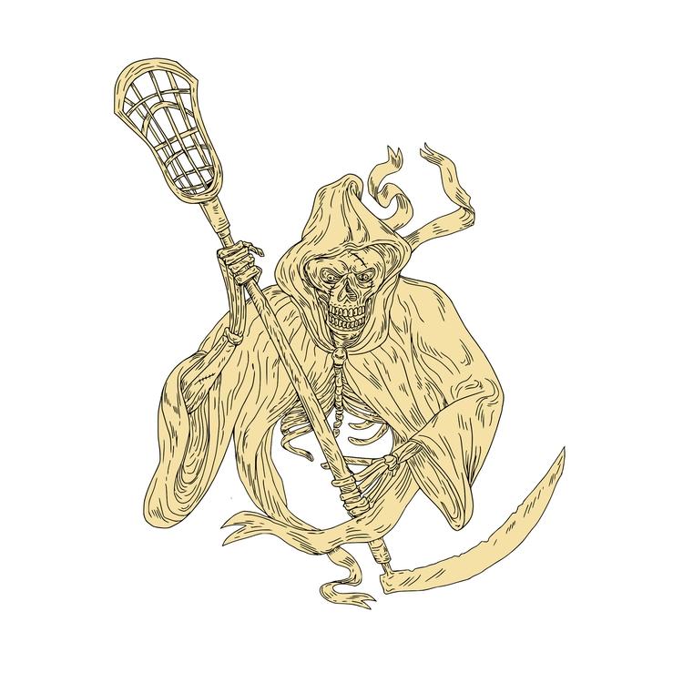 Grim Reaper Lacrosse Stick Draw - patrimonio | ello