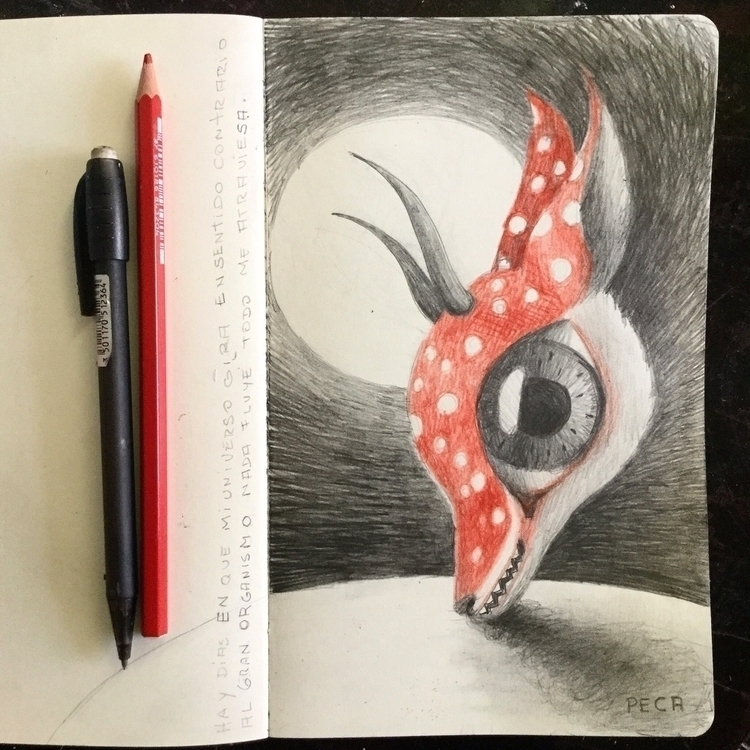 peca pecaart sketch sketchbook  - peca-art   ello