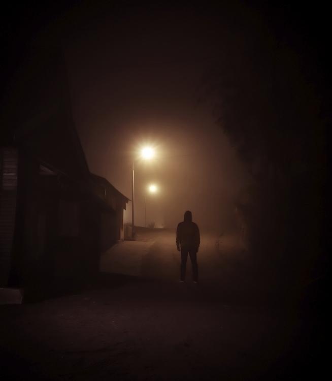 Foggy nights spent wandering In - jonathansander | ello