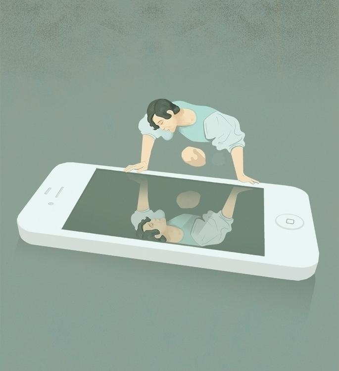 Social Media Narcissism social  - marcomelgrati | ello