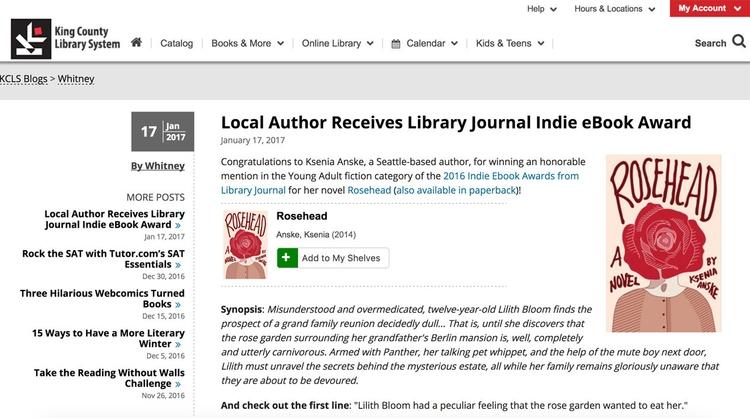 Look! King County Library blogg - kseniaanske | ello