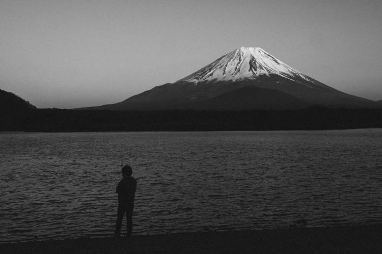 Mount Fuji - 2015 blackandwhite - pramudiya | ello