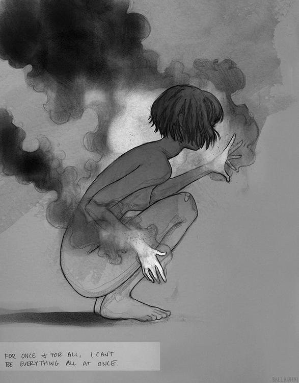 illustration blackandwhite draw - lupetto | ello