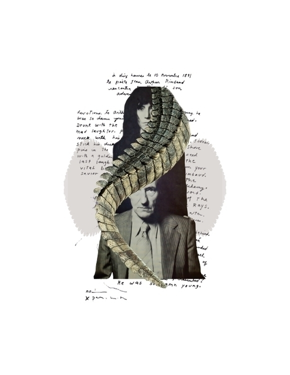 Digital collage Patti Smith &am - marianagv | ello