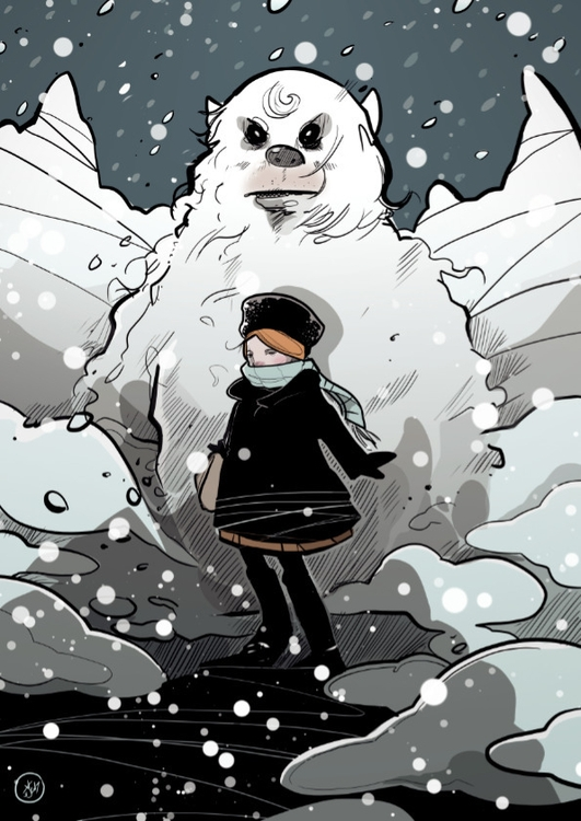Wrap Up Cold Today. illustratio - shugmonkey | ello