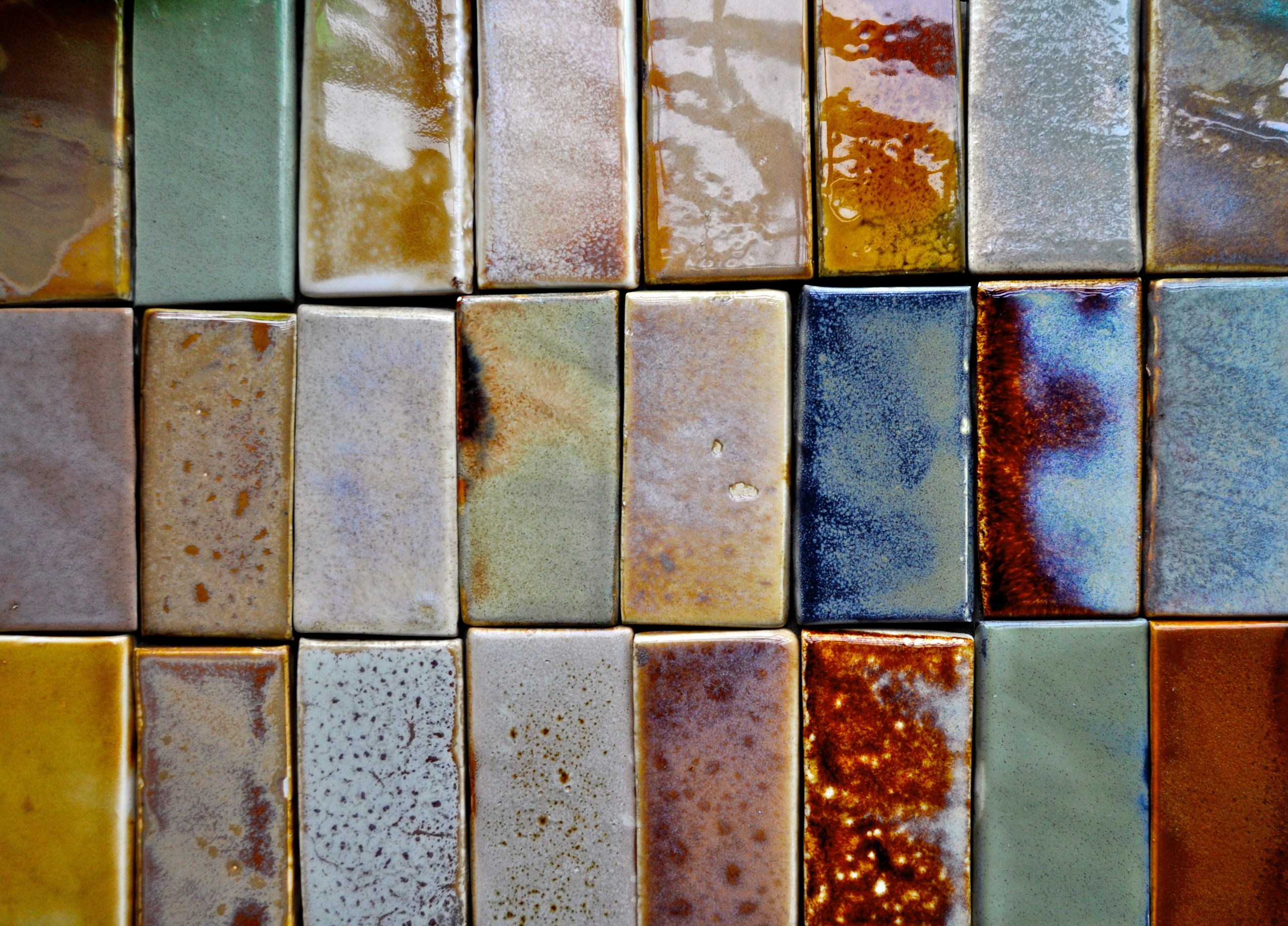 ceramic wall art Mini-brick han - roycewood | ello