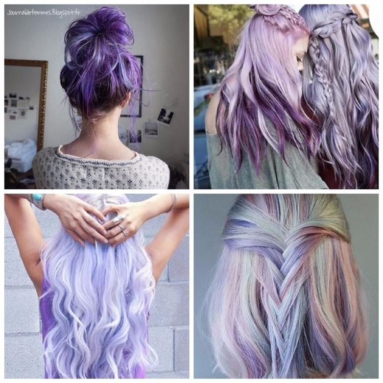 Cheveux Des couleurs pastels or - journaldefemmes | ello
