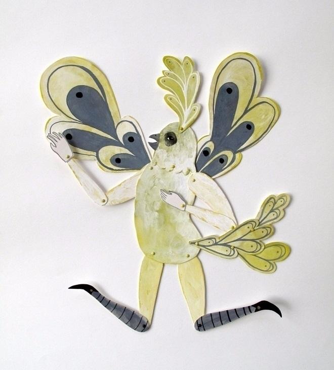 Wonderful, magical paper dolls  - sandraapperloo | ello
