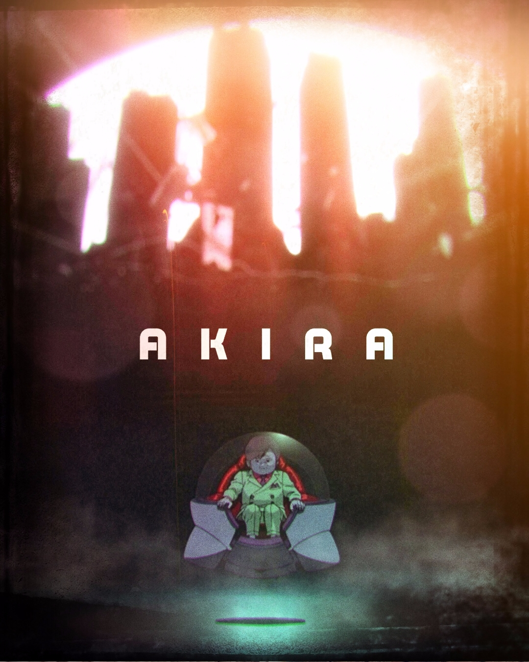 AKIRA poster design variant cin - pinheiro | ello