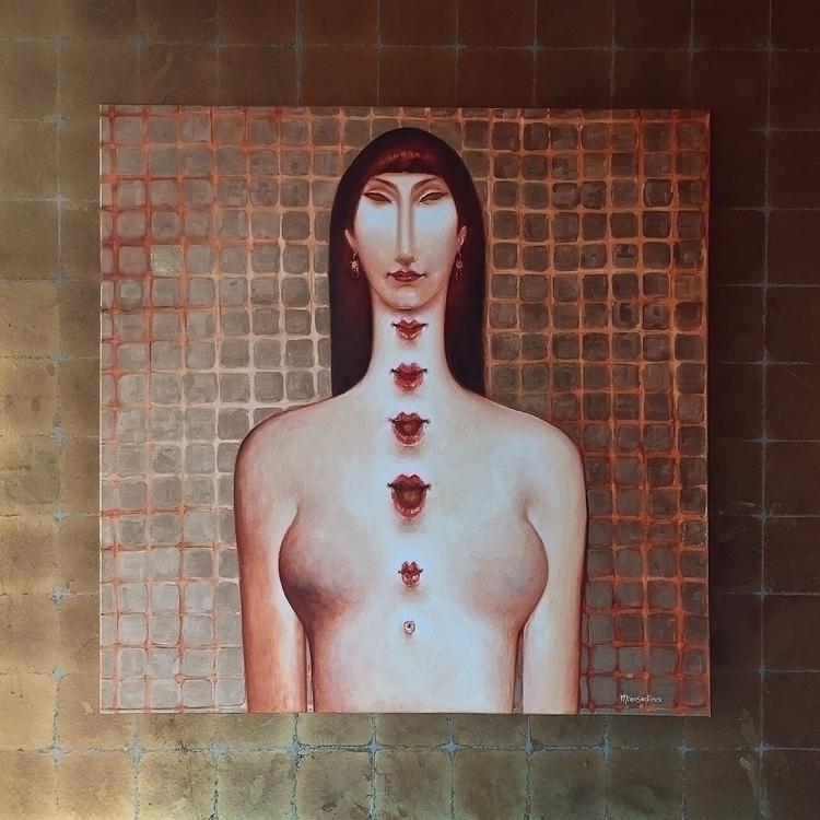 golden age woman cage / 100x100 - mirosedina | ello