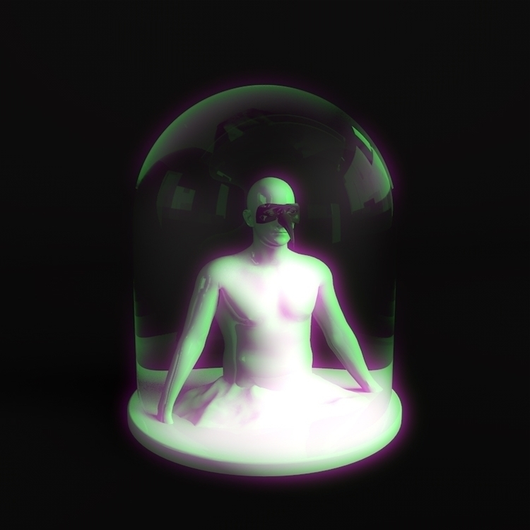 glass man dome birdmask mountai - catswilleatyou | ello