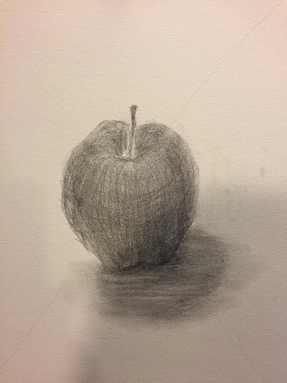 Apple#drawing - akiness | ello