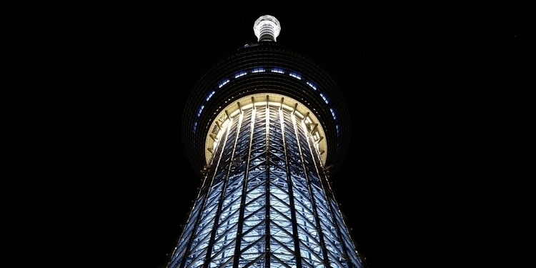 neofuturistic tokyo skytree fli - salz | ello