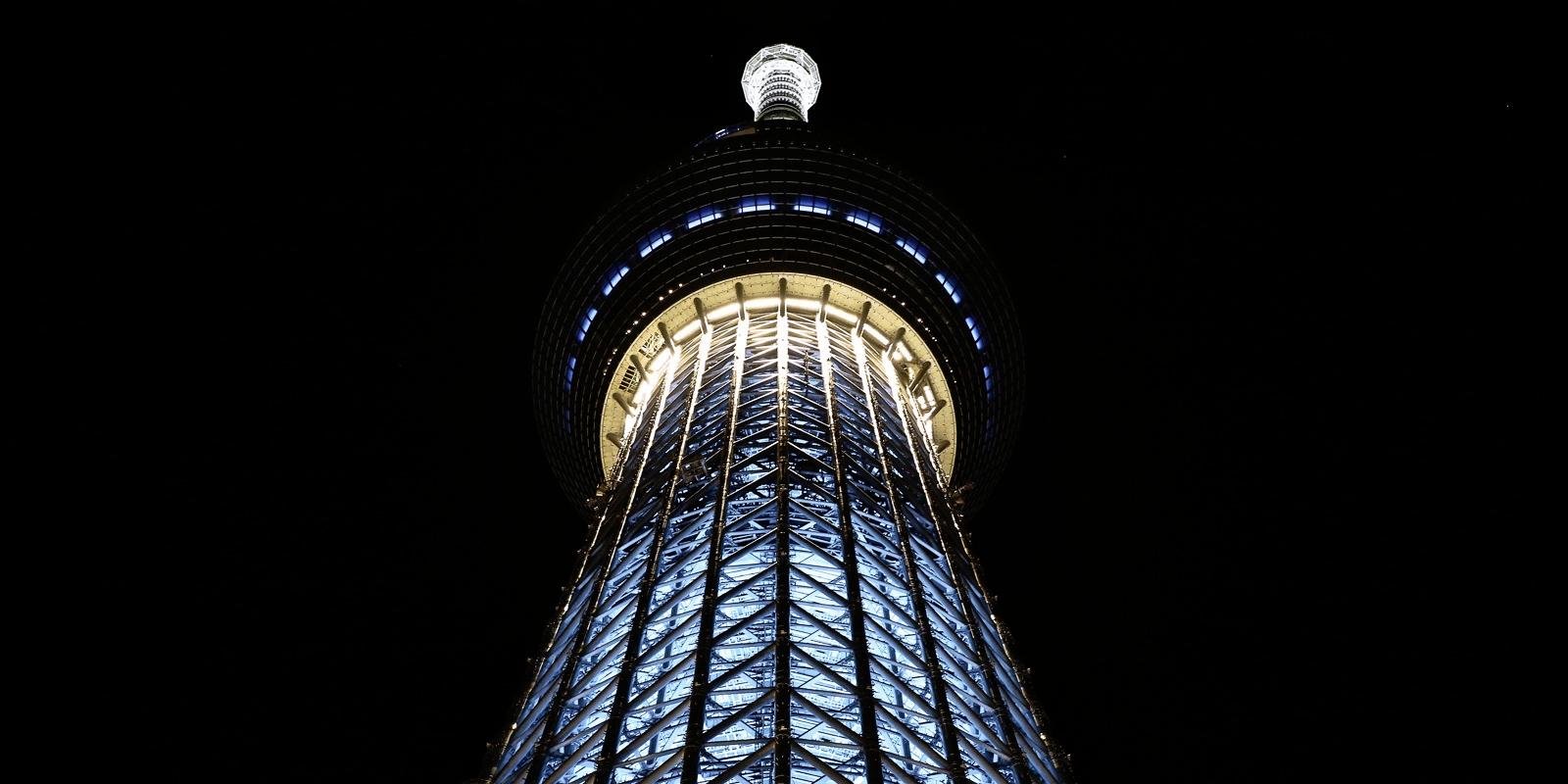 neofuturistic tokyo skytree fli - salz   ello
