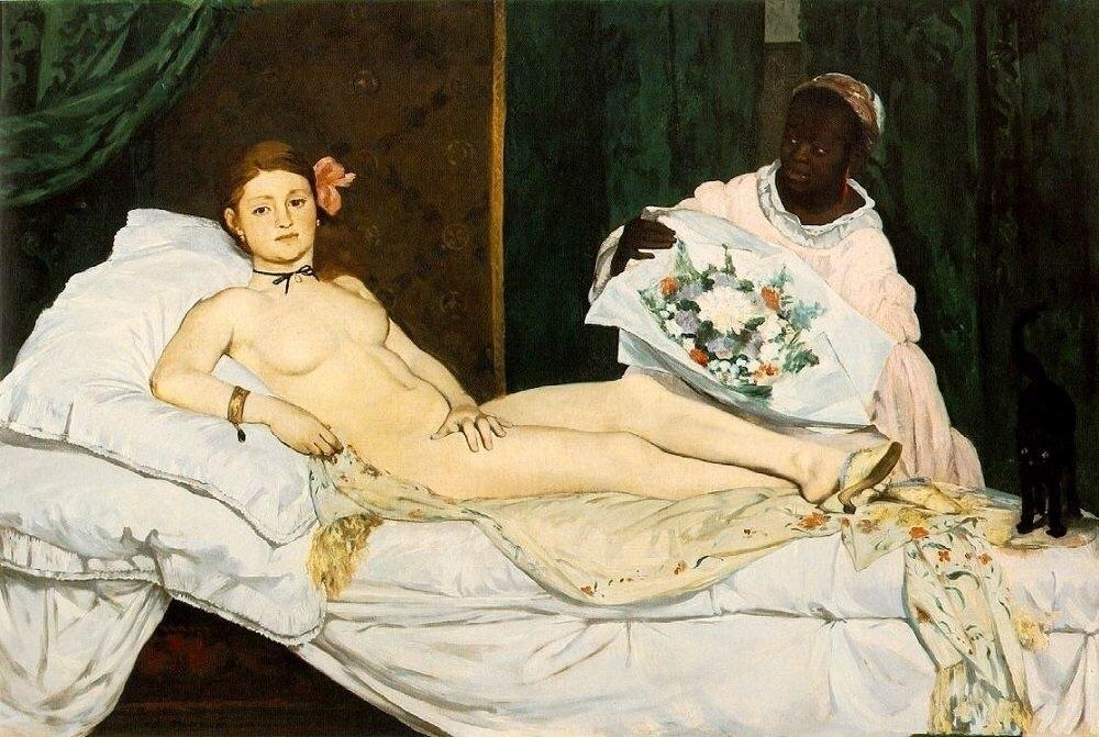 Edouard Manet, Olympia - daultondickey | ello