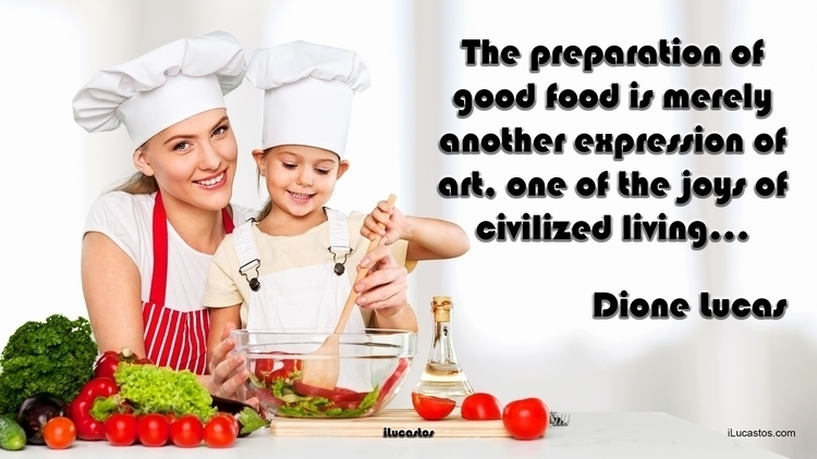 The preparation good food expre - ilucastos | ello