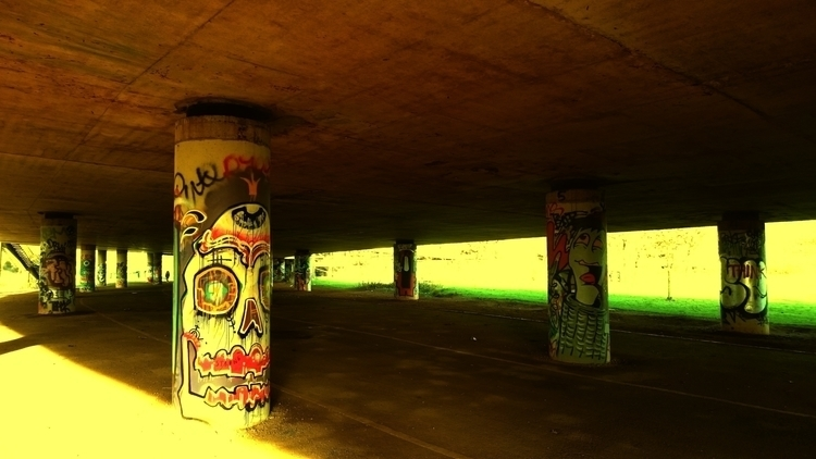 Underpass graffiti street stree - the_rush_hour_tourist | ello