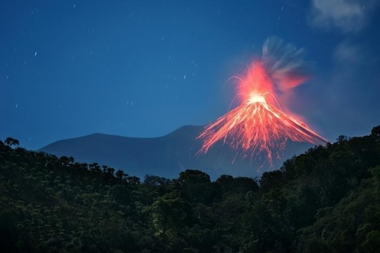 Volcan De Fuego, Yepocapa - Gua - devonbbarker | ello