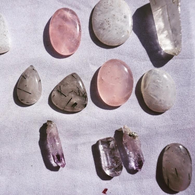 gem precious purple rutile quar - howsweetthesting | ello