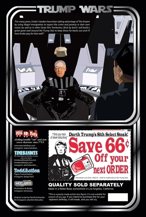 Darth Trump Action Figure - sid - jstephensdesign | ello