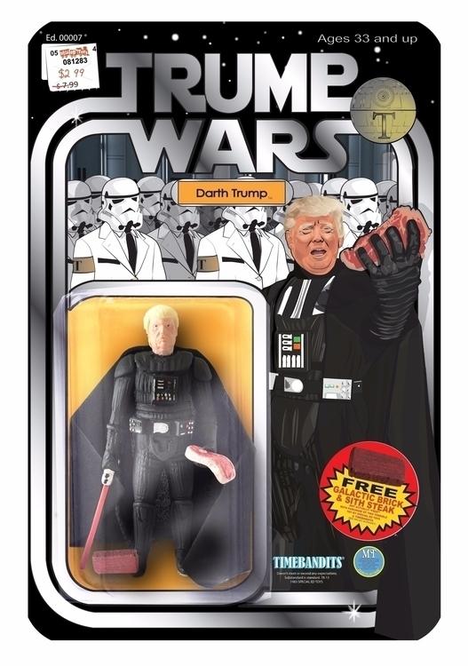 Darth Trump 3 3/4 Bootleg Actio - jstephensdesign | ello
