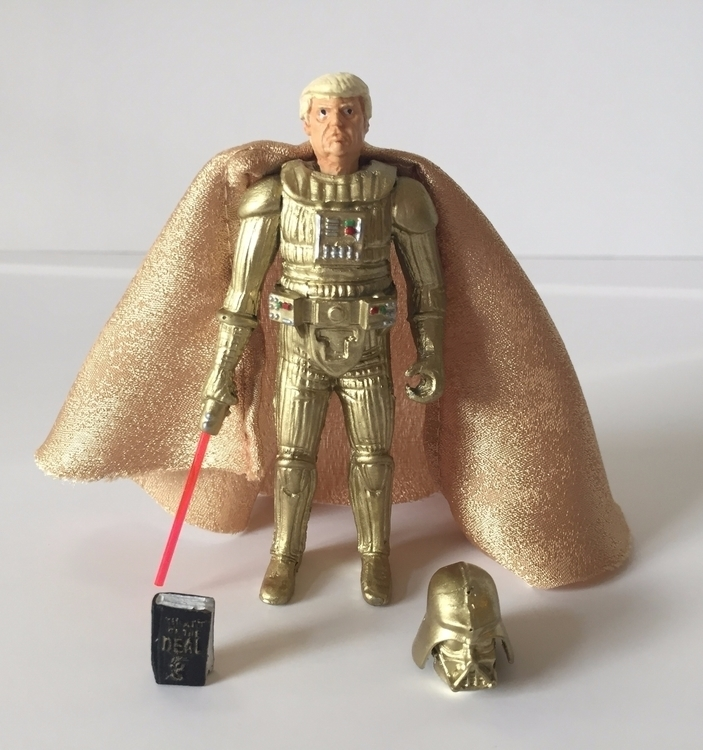 Darth Trump (Gold Edition) 3 3/ - jstephensdesign | ello