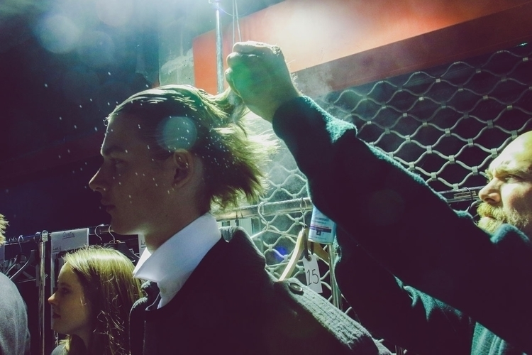 Backstage Sean Suan - Paris fas - fashionsnap | ello