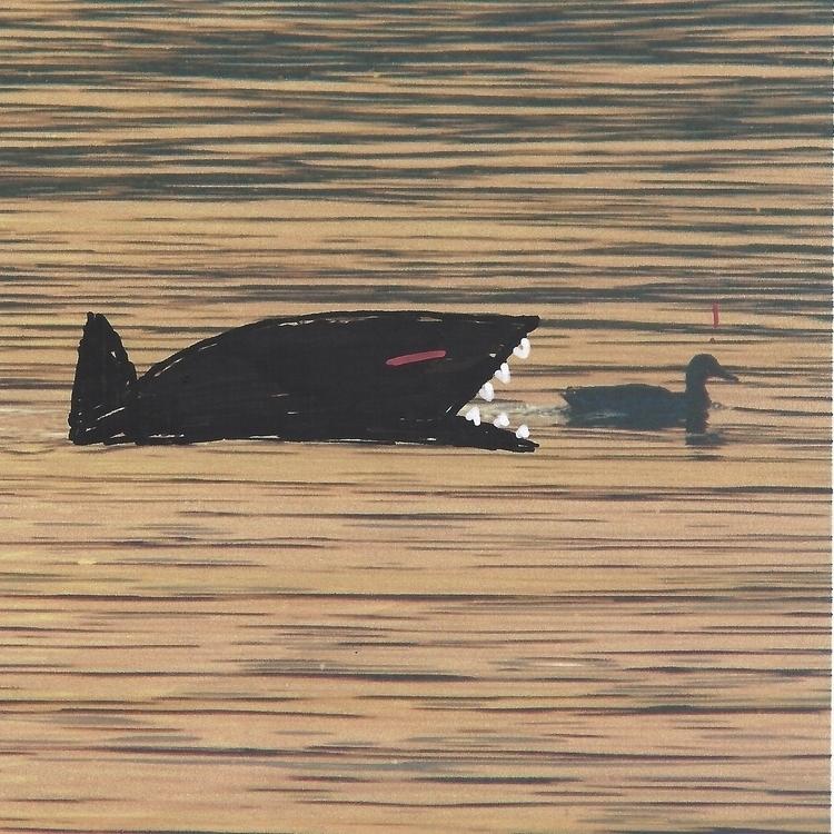 """Black Fish ducks observed Fuen - littlefears | ello"