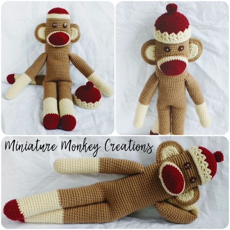 Happy MonkeyMonday! monkey town - miniaturemonkeycreations | ello