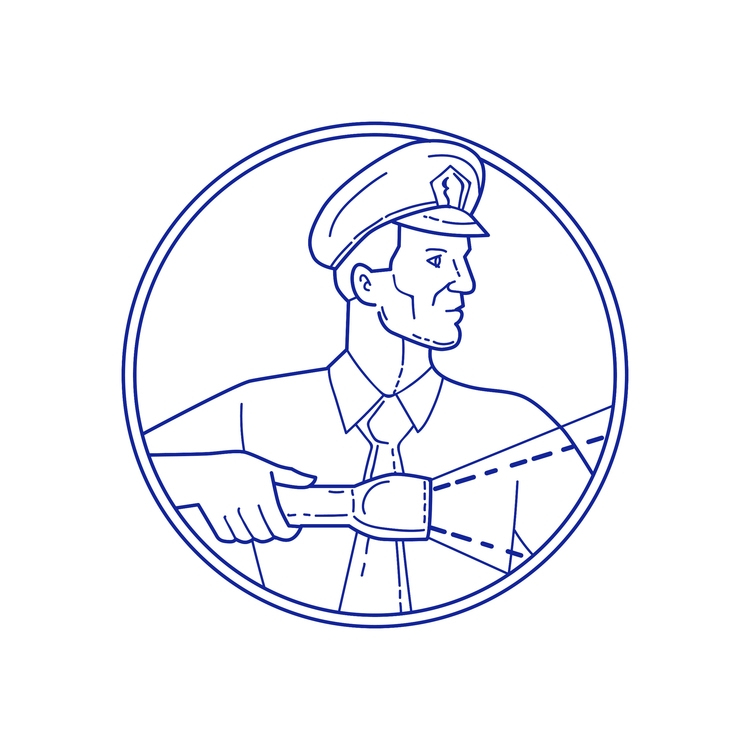 Security Guard Flashlight Circl - patrimonio | ello